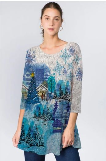 388 ET'LOIS  Holiday Tunic