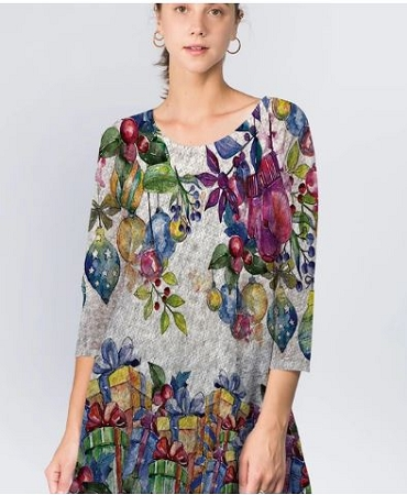 405 ET'LOIS  Holiday Tunic
