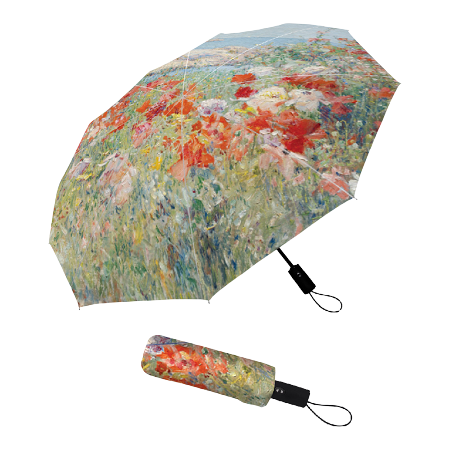 RAINCAPER HASSAM CELIA'S GARDEN/ISLES OF SHOALS FOLDING TRAVEL UMBRELLA