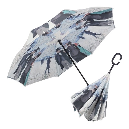RAINCAPER CAILLEBOTTE PARIS STREET REVERSE UMBRELLA