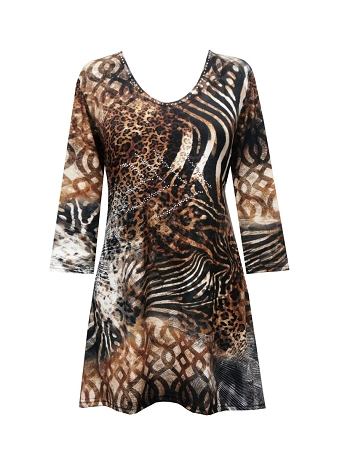 17322-1 Valentina Signa In-The-Wild Animal Print