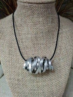Sideways Cyclone Necklace